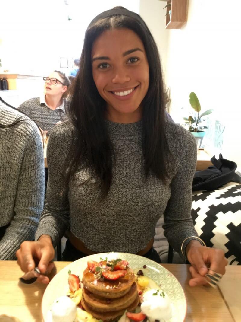 Morgan Mitchell Vegan Olympian