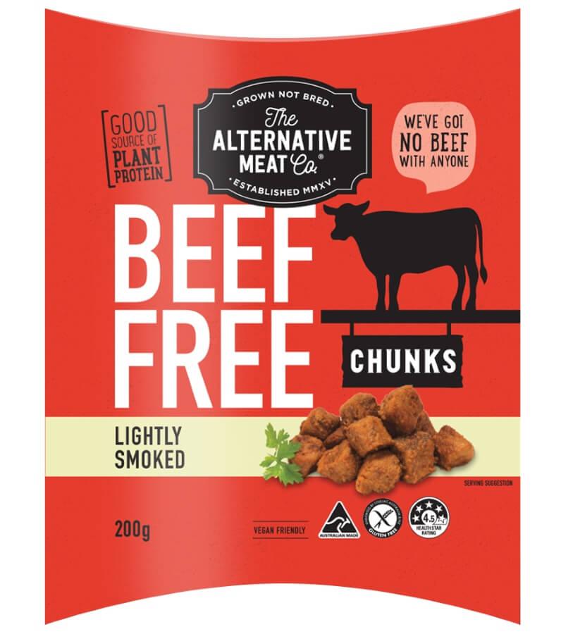 Alt Meat Co Beef Free Chunks