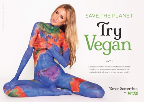 'Earth' Beauty Renee Somerfield's Plea for the Planet