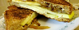 Onion-and-Pear Grilled 'Cheese'