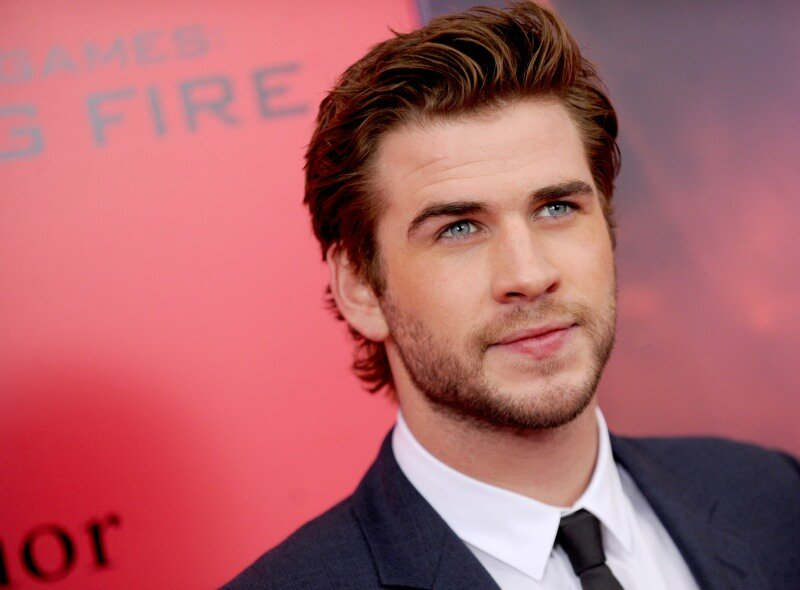 Liam Hemsworth Hunger Games: Catching Fire Premiere