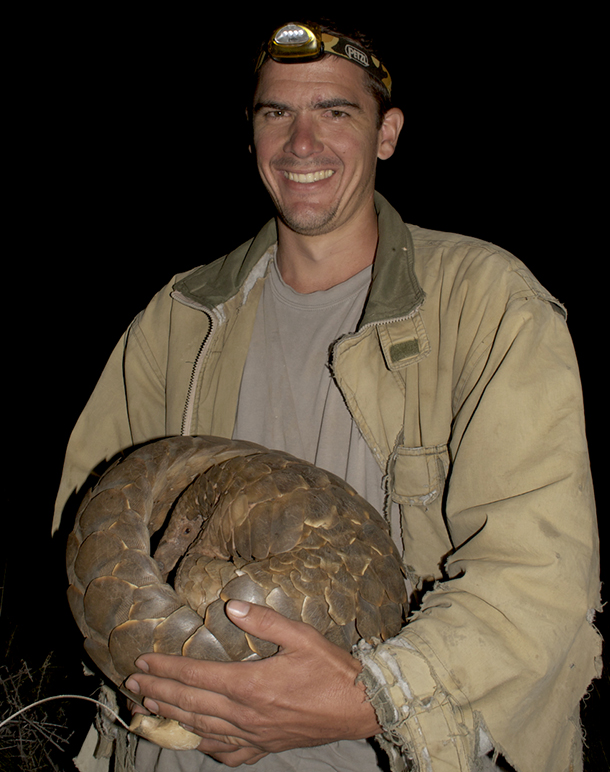 Darren Pietersen, Vice-Chairman of the African Pangolin Working Group