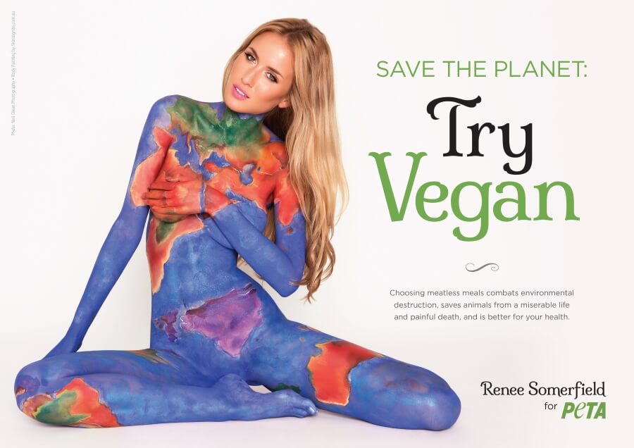 Renee Somerfield PETA ad