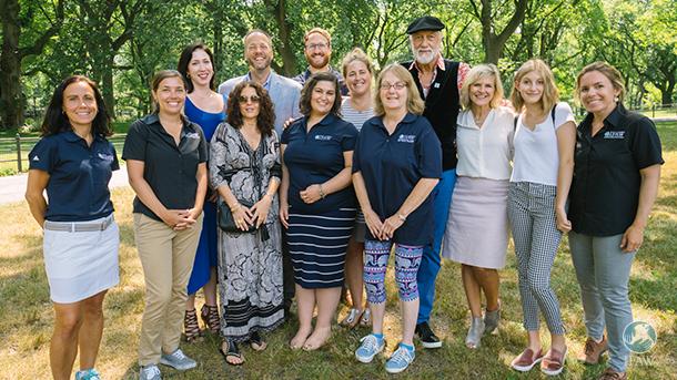 IFAW team at the new york ivory crush