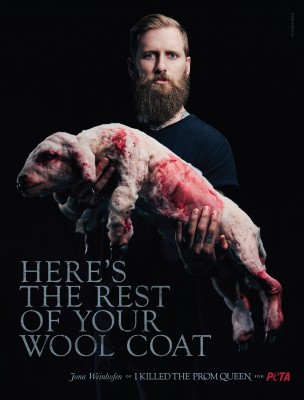 Jona Weinhofen Reveals the Bloody Truth Behind Every Wool Coat