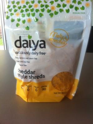 Daiya Cheddar Style Shreds