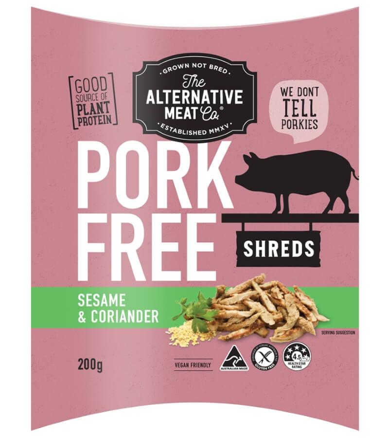 Alt Meat Co Pork Free Shreds