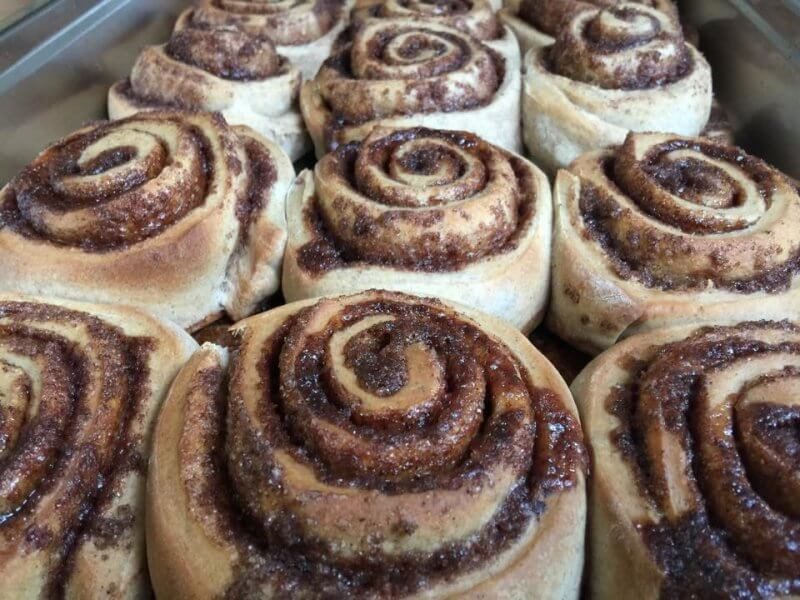 Cinnamon Buns at Sweet Bones Bakery