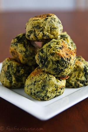 Vegan St Patrick's Day Colcannon Puffs