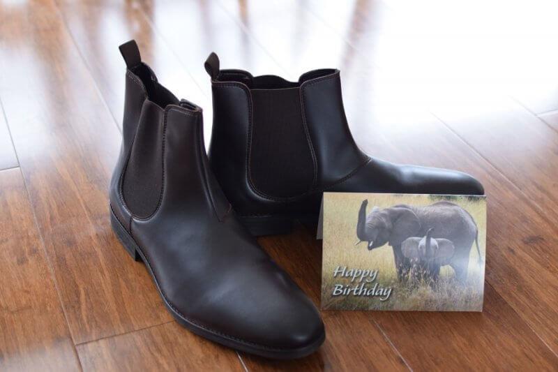 Barnaby Joyce boots from PETA
