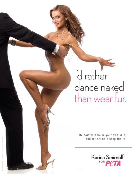 Naked Spots Dance Certain Ways