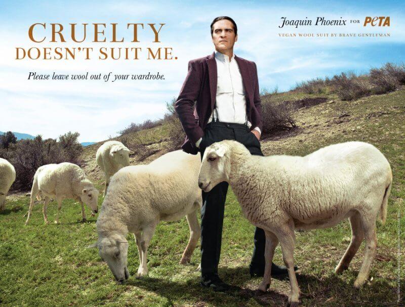 Joaquin Phoenix Anti Wool Ad