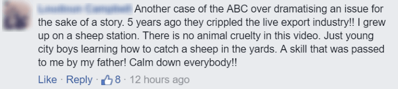 King's School Sheep Rugby - Facebook comment 3