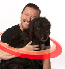 Ricky Gervais supports Collars not Cruelty