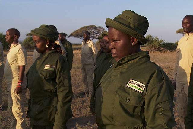 One of Kenya's first all-female ranger units, team Lioness protects 150,000 acres of community lands shared by both people and wildlife.