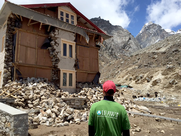 Surviving Nepal's earthquake, a first hand account