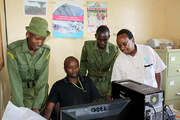 IFAW's tenBoma project would help Kenya Wildlife Service staff monitor data near poaching hotspots.