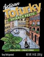Tofurky Artisan Spinach  Pesto Sausages