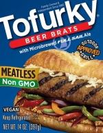Tofurky Beer Brats Sausages