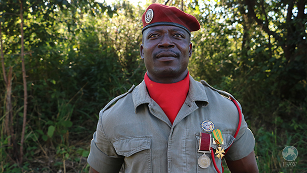 raphael chiwindo is a ranger in malawi