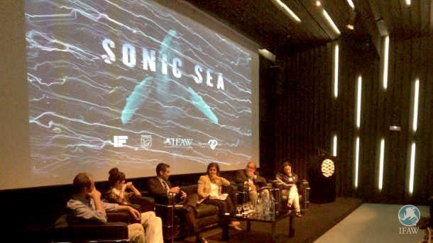 IFAW, Portuguese government officials and members of the shipping industry discuss the importance of reducing ocean noise.